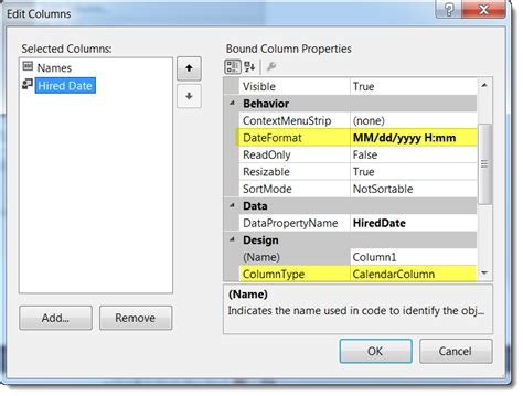 php format date day name custom calendar column for a datagridview vbforums