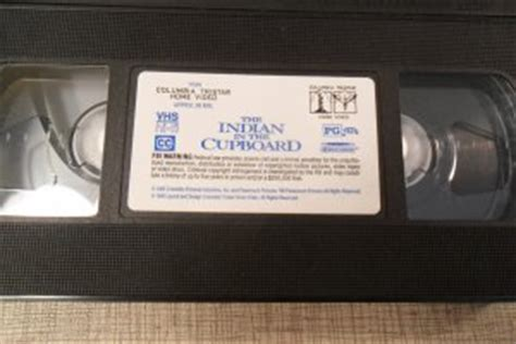 indian   cupboard vhs video tape