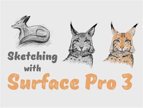 sketchbook pro on surface 3 lorenzo miglietta digital designer