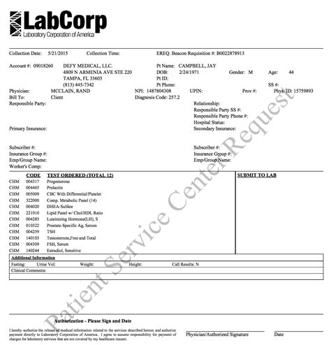 lab requisition form template the importance of regular blood work fabulously fit 40