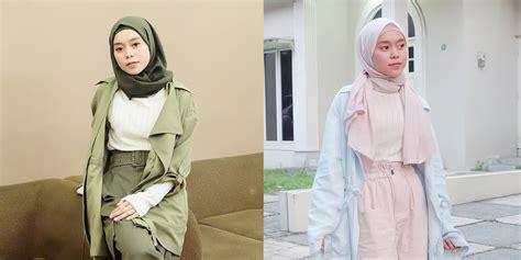 fashion hijab modis ala lesti  bisa jadi inspirasi