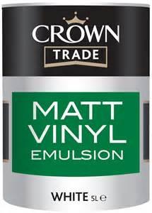 Metal Paint Exterior - crown trade matt vinyl emulsion