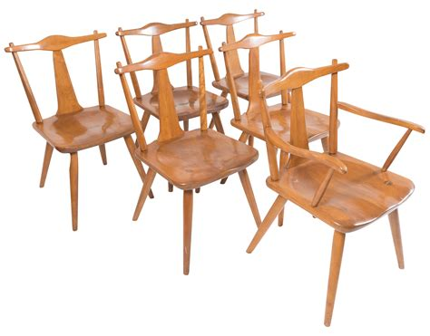 colonial dining chairs cushman mid century colonial dining chairs set of 6