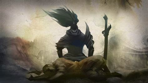 yasuo league  legends wallpaper yasuo desktop wallpaper
