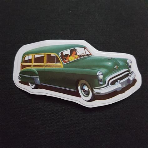 7 Car Sticker by C7 Green Vintage Car Sticker Stickers Car Accessories On