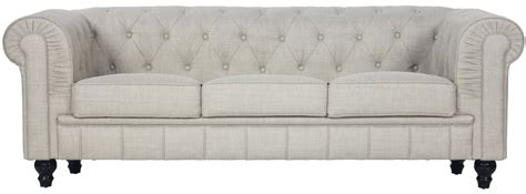 beige fabric sofa benjamin classical 3 seater fabric sofa in beige