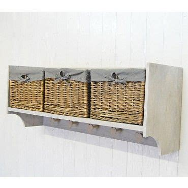 Coat Rack With Storage Baskets by 1000 Images About Coat Hooks On Shelves