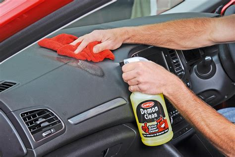 home products to clean car interior 100 home products to
