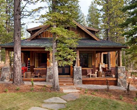 cabin style home craftsman style cabin home design ideas pictures remodel