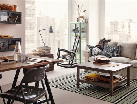 Rustic Living Room Ikea A Room With A View
