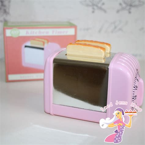 Pink Toasters For Sale Pink Toaster Kitchen Timer Iced Jems Shop