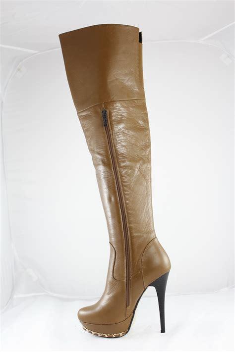 overknee leather boots onlineshop