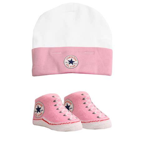 converse baby hat sock set 0 6 months ebay