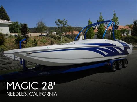 boats for sale in needles california for sale used 2009 magic 28 scepter open bow in needles