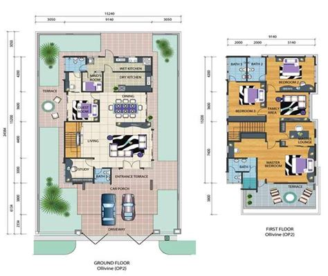 malaysia house plan floor plan bungalow house in malaysia