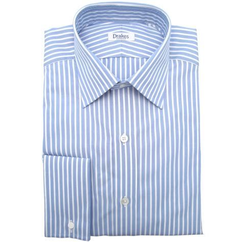 White And Blue Shirt light blue and white striped shirt artee shirt