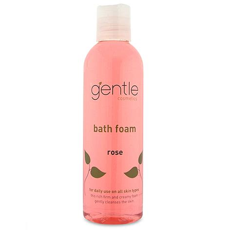bathtub foam rose bath foam gentle cosmetics