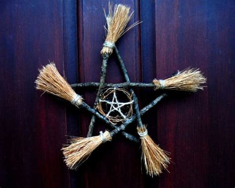 pagan home decor etsy 1000 ideas about witch broom on pinterest witch wreath