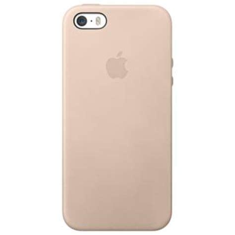 Leather Iphone 6 6s Promo M E coque apple cuir pour iphone 5 5s beige etui