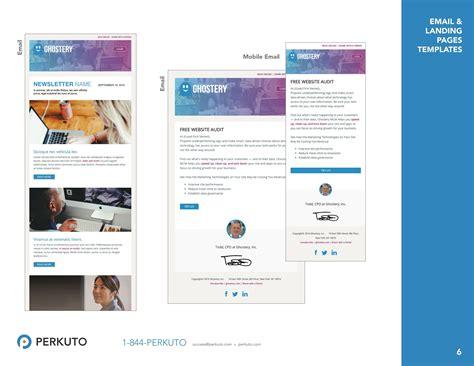 Marketo Templates Portfolio Landing Page Templates Email Templates Perkuto Marketo Email Templates