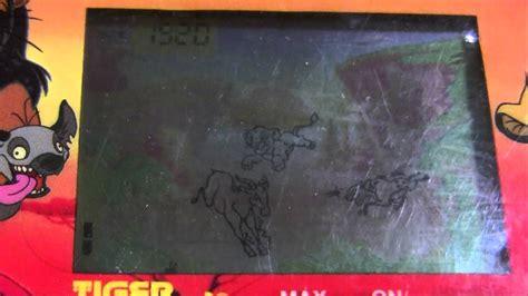 disneys  lion king lcd handheld  tiger electronics