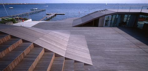 Deck Architecture by Maritime Youth House Plot Archdaily