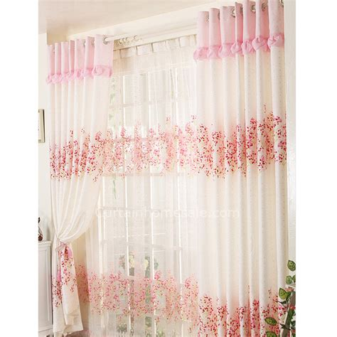 sweet home decoration sweet home decoration floral room window curtains