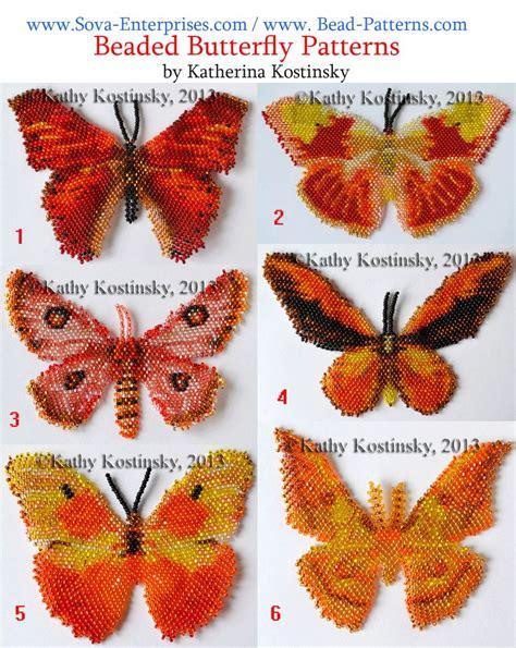 beaded butterfly pattern beaded butterfly patterns by katherina ksotinsky
