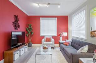 red accent walls the power of the accent wall