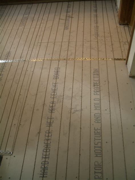 Installing Heated Floors by How To Install Suntouch Warmwire In Floor Heating Part 2