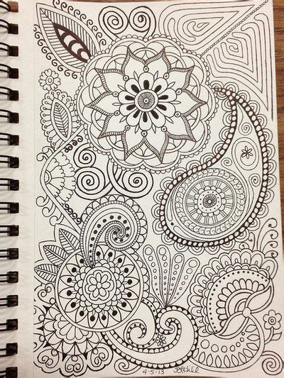 doodle drawing inspiration zentangle doodles and mandalas on