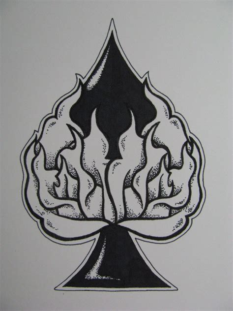spade tattoo srh spade designs www imgkid the image kid