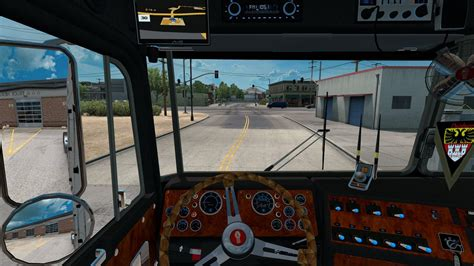 Kenworth K100 Interior by Kenworth K100 Aerodyne Ats Mods