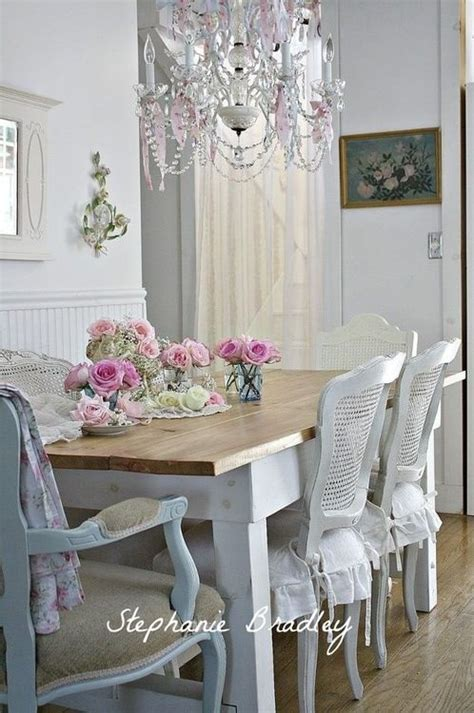 Dining Room Chair Slipcovers Shabby Chic 1000 Ideas About Shabby Chic Dining On Dining Room Sets Dinning Table And Calming