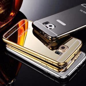 Bumper Mirror For Samsung Galaxy J5 Free Ring luxury aluminum ultra thin mirror metal cover for samsung galaxy s5 s6 edge ebay
