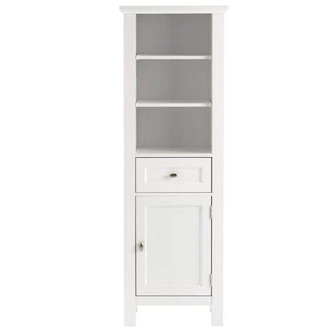 Home Depot Bathroom Cabinets Storage Home Decorators Collection Austell 20 In W X 60 In H X 14 In D Bathroom Linen Storage Cabinet