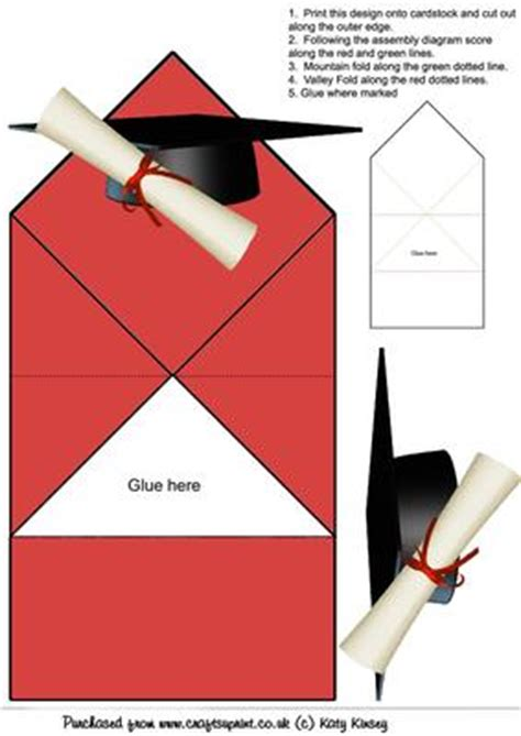 graduation pop up card template graduation cap and scroll pop up card cup89238