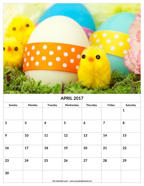 Easter 2018 Calendar When Is Easter In 2017 Calendar Calendar 2017