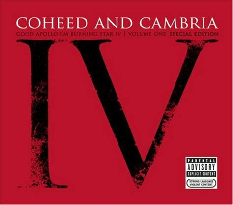 apollo i m burning iv vol 1 2005 coheed