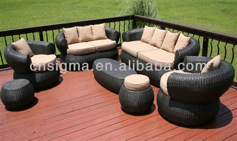 bali style outdoor furniture 2014 bali style 7pc outdoor furniture sofa set wicker