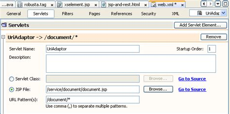 jsp tutorial web xml restful web services english