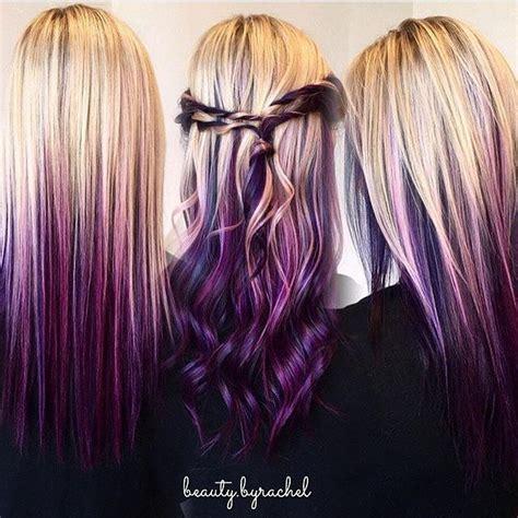hairstyles blonde and purple 25 beautiful purple blonde hair ideas on pinterest