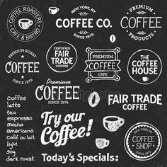 local coffee shop chalkboard menu almost too neat i really enjoy the creativity chalkboards can add to the