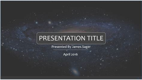space powerpoint template 7879 free powerpoint space