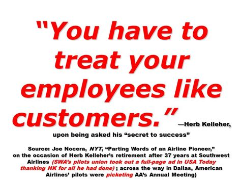 herb quotes south west airlines herb kelleher quotes quotesgram