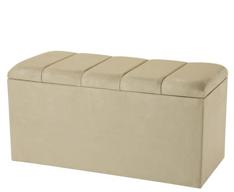 black suede storage ottoman florence faux leather and suede ottoman