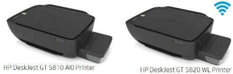 Printer Hp Gt Series hp deskjet gt series printers technuter