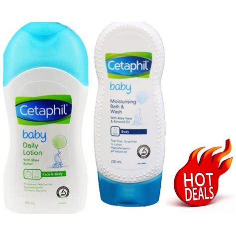 Jual Baby Bath Helper cetaphil baby daily lotion with shea butter 400 ml