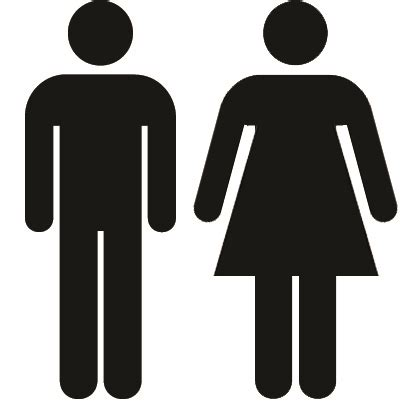 bathroom man and woman 301 moved permanently