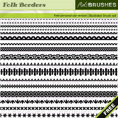 illustrator pattern brush corners tutorial 1 100 free adobe illustrator brushes inspirationfeed
